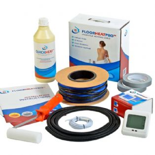 Floorheatpro Undertile Loose Cable Kits - 10w/m